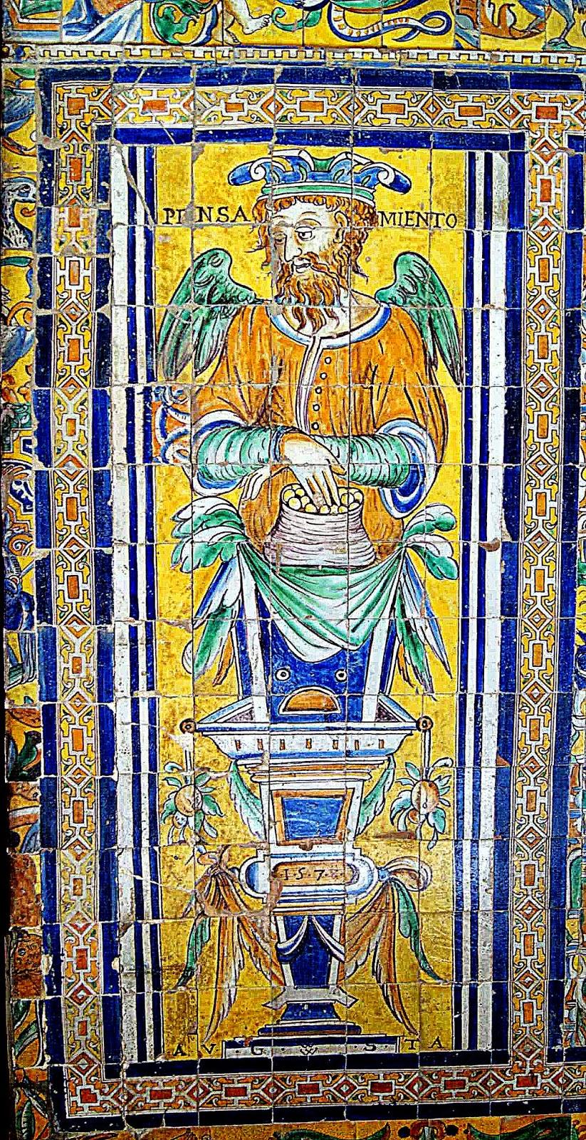 Leyendas de sevilla reales alc zares de sevilla xiii for El mundo de los azulejos