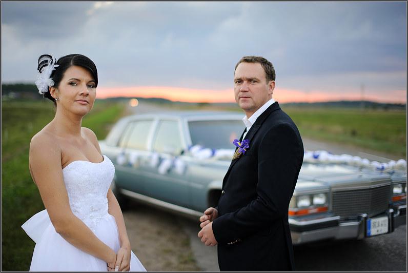 vestuvės žemaitijoje su automobiliu