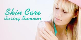 How to care skin in summer skin care routine