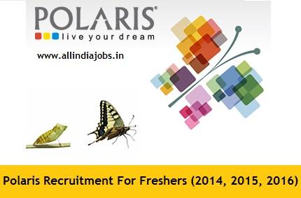 Polaris Recruitment 2018-2019 Job Openings For Freshers | Freshers ...