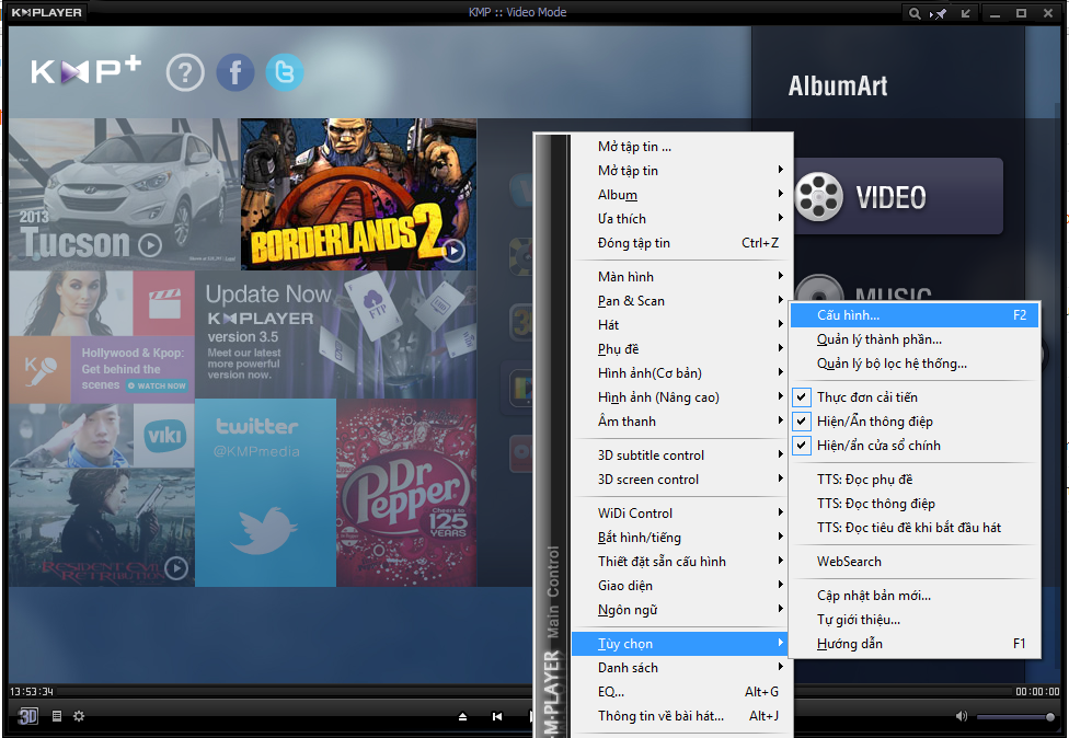 DOwnLOad KMplayer 3.7
