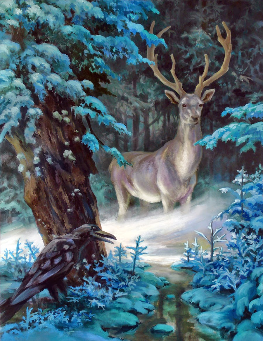 Dragonsfaerieselvestheunseen the magick of the white stag buycottarizona Images