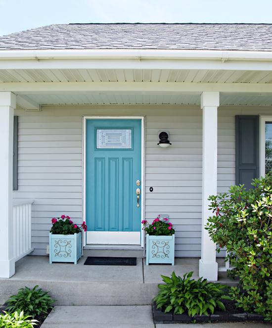... Door Kick Plates Lesgavroches; Iheart Organizing A Mini Front Porch  Refresh ...