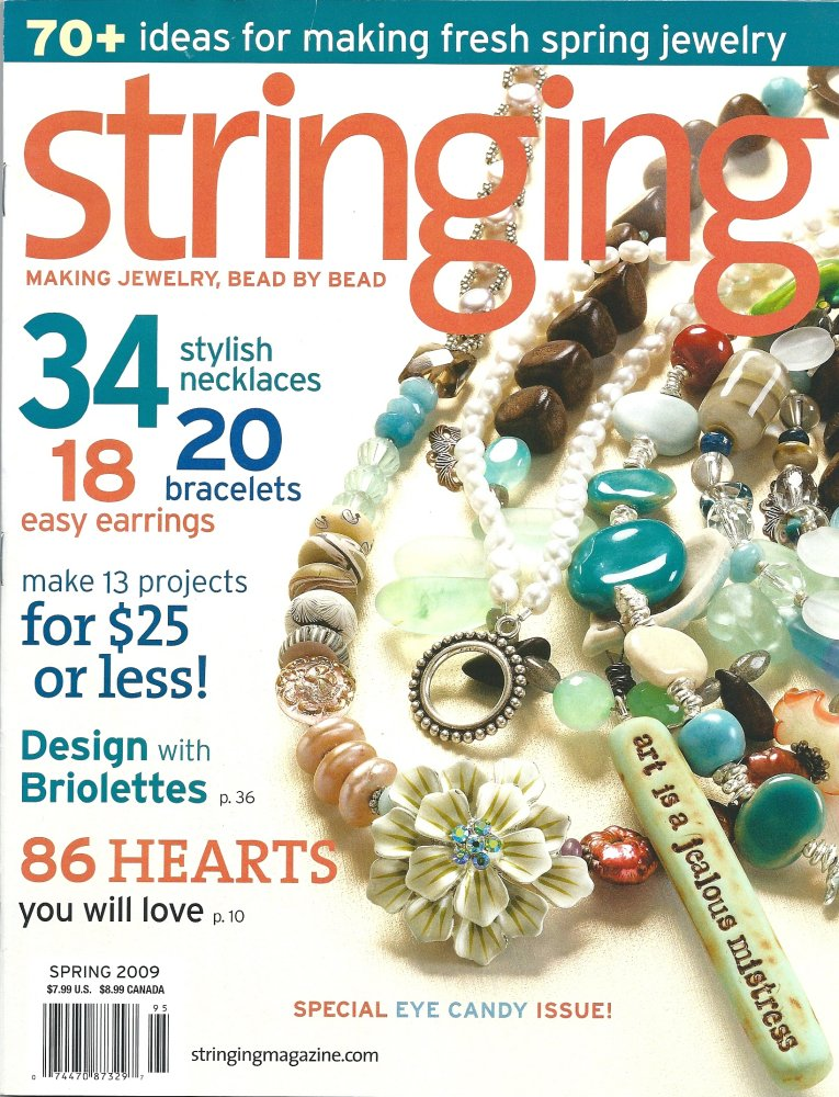 Katalina jewelry published work for Step by step wire jewelry subscription