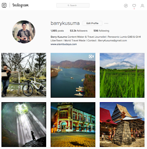 Follow @BarryKusuma Instagram