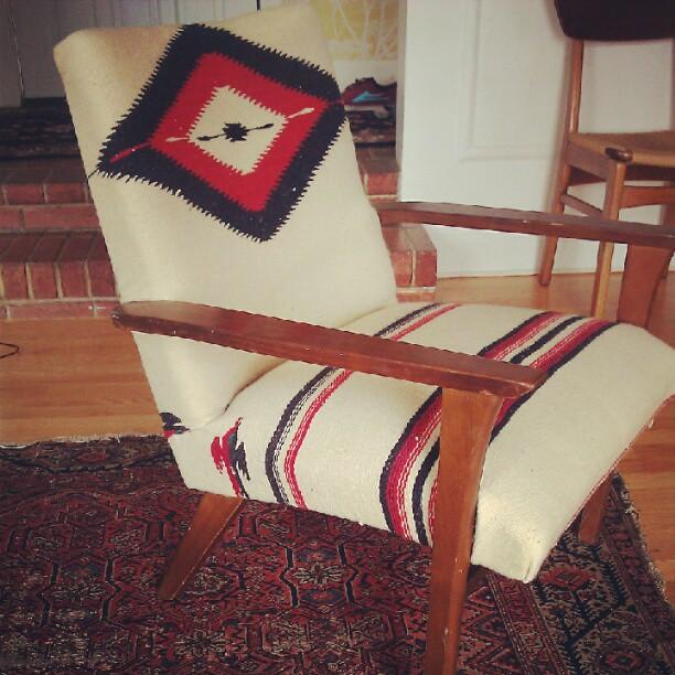 MODERNHAUS: Trending: Vintage Navajo Rugs And Mid Century