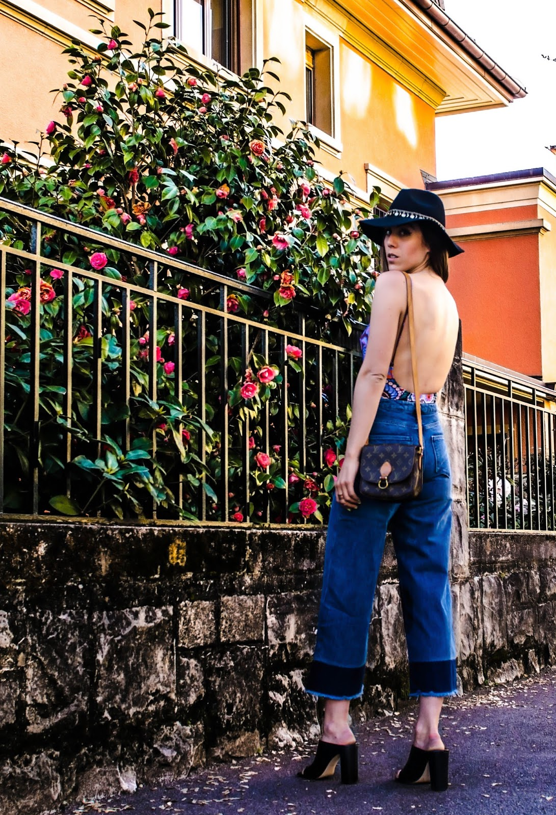 alison liaudat, blog from switzerland, swiss fashion blogger, blog mode suisse, swiss blog, beauty blogger swiss, denim culotte, trend spring 2015, denim, H&M trend collection,