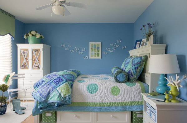 dream bedrooms for teenage girls blue ideas for teenage girls