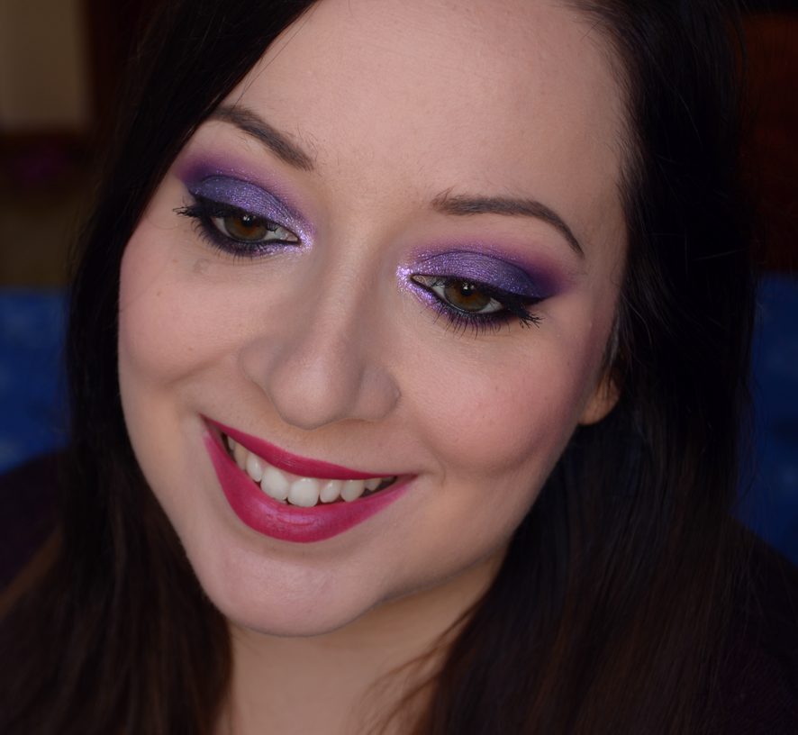 Purple Make up