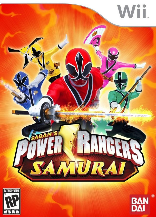 Power Rangers Samurai (WII)