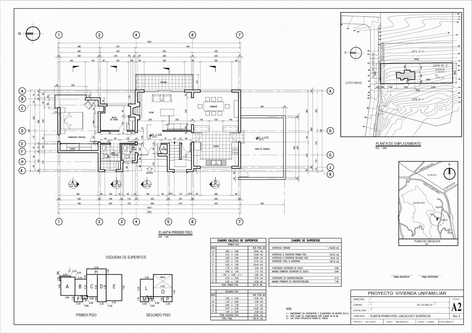 Madibujanteproyectista septiembre 2013 for Planos de arquitectura