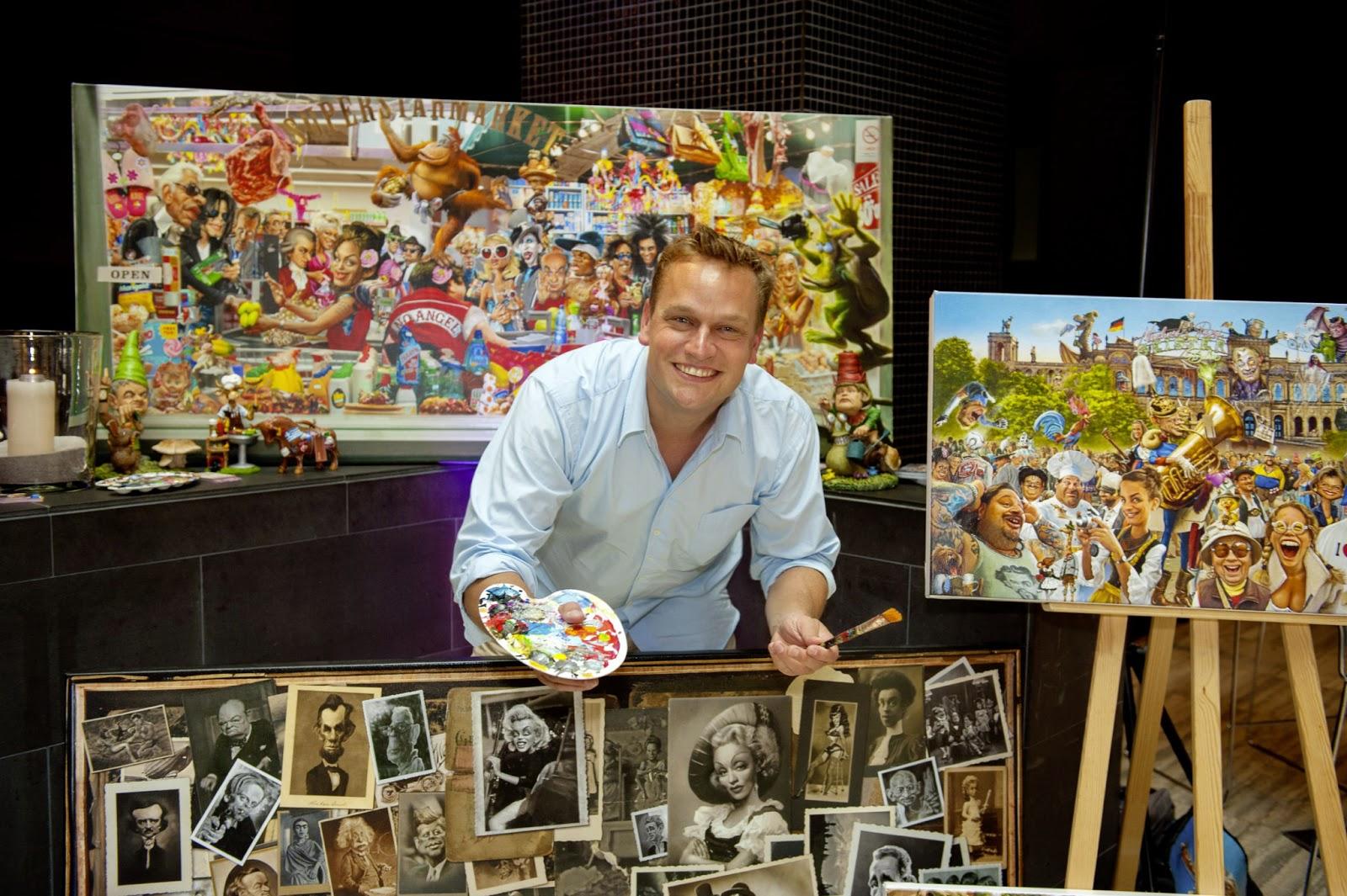 Künstler München Maler bernhard prinz der münchner künstler bernhard prinz mitten in münchen