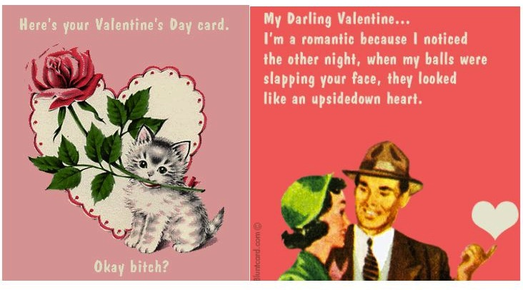 Insane in the Mombrain Valentines Day Cockroaches Balls and – Blunt Cards Valentines