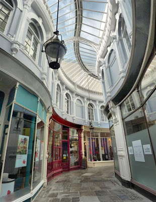 """Galería comercial """"Morgan Arcade"""" de Cardiff"""