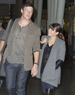 Lea Michele,Cory Monteith Death