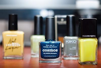 покупки - kiko, illamasqua, picture polish, american apparel