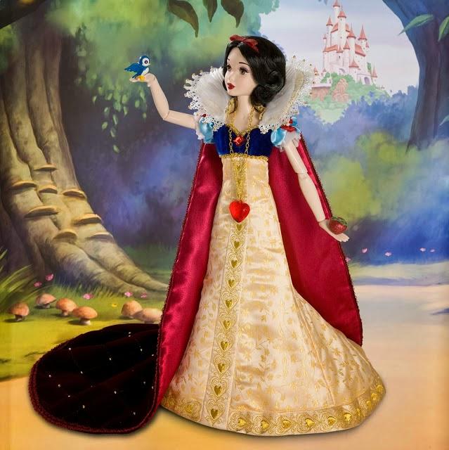Muñeca de Blancanieves edición de lujo