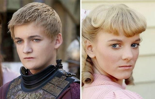 King Joffrey Baratheon and Nellie Olsen