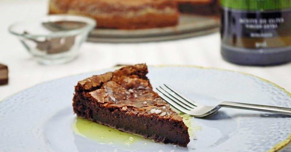 stuttgartcooking: Schokoladenkuchen mit Olivenöl und Salz