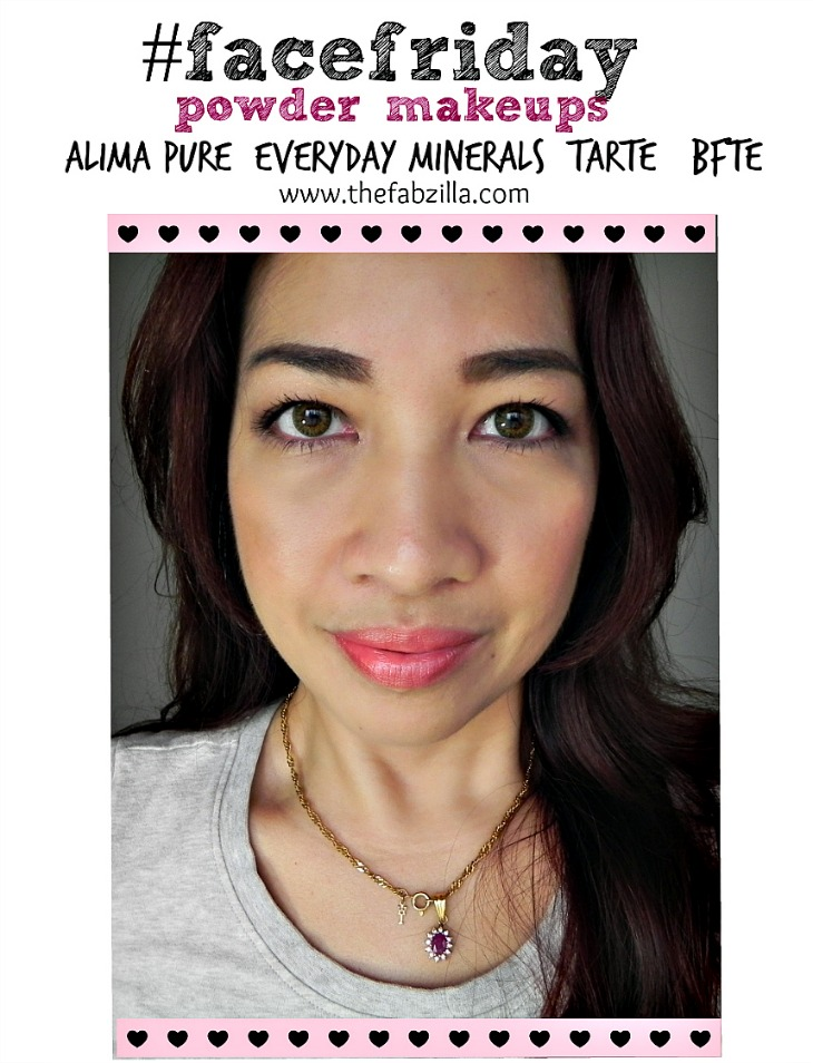 powder makeups, alma pure review, tarte smooth operator review, everyday minerals review