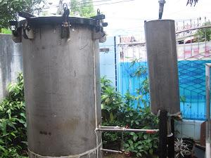 mesin destilasi nilam,cengkeh,pala,sereh