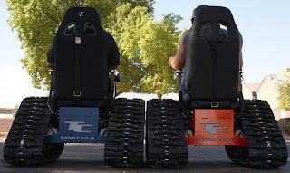 Impressionante Off-road cadeira de rodas