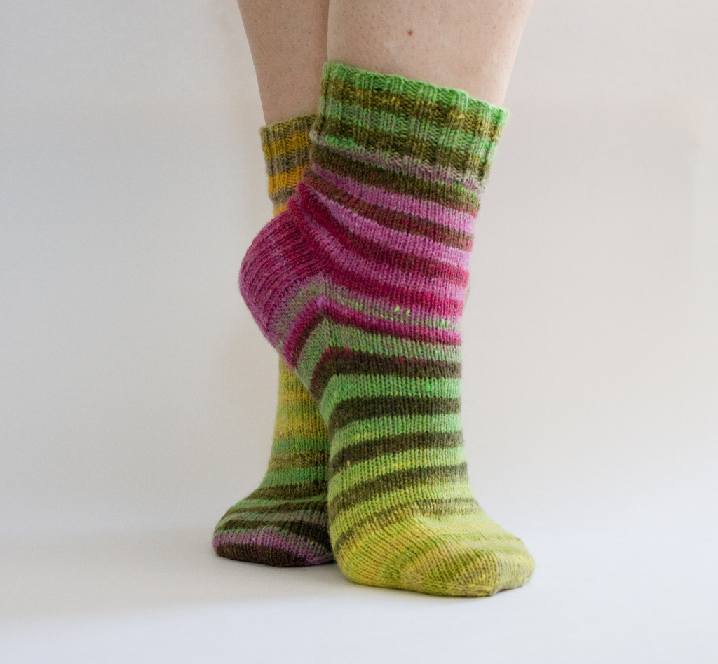 Knitted Socks Pattern : Knitting Patterns Free: knitting socks