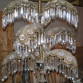 Incredible Art Deco Chandelier