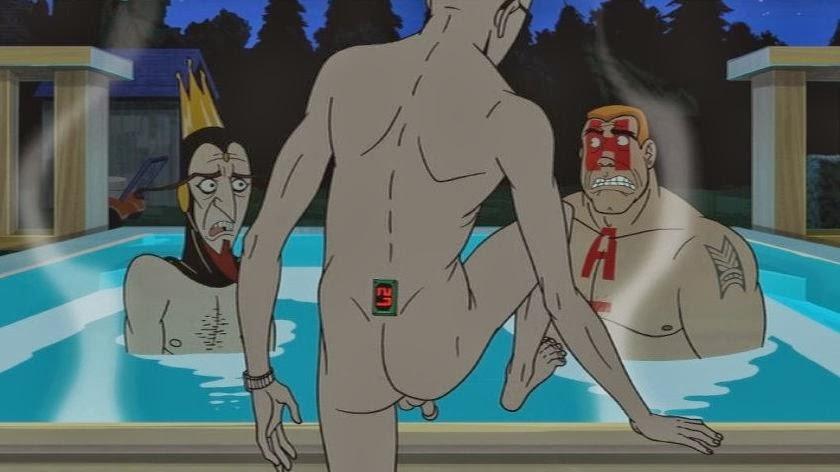 venture bros nude girl