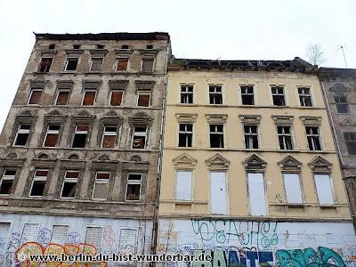 berlin, verlassene, gebaude, lichtenberg