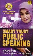toko buku rahma: buku smart trust public speaking, pengarang irwan pane, penerbit prenada