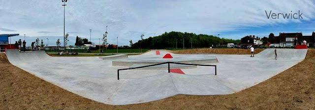 Nouveau skatepark Wervik