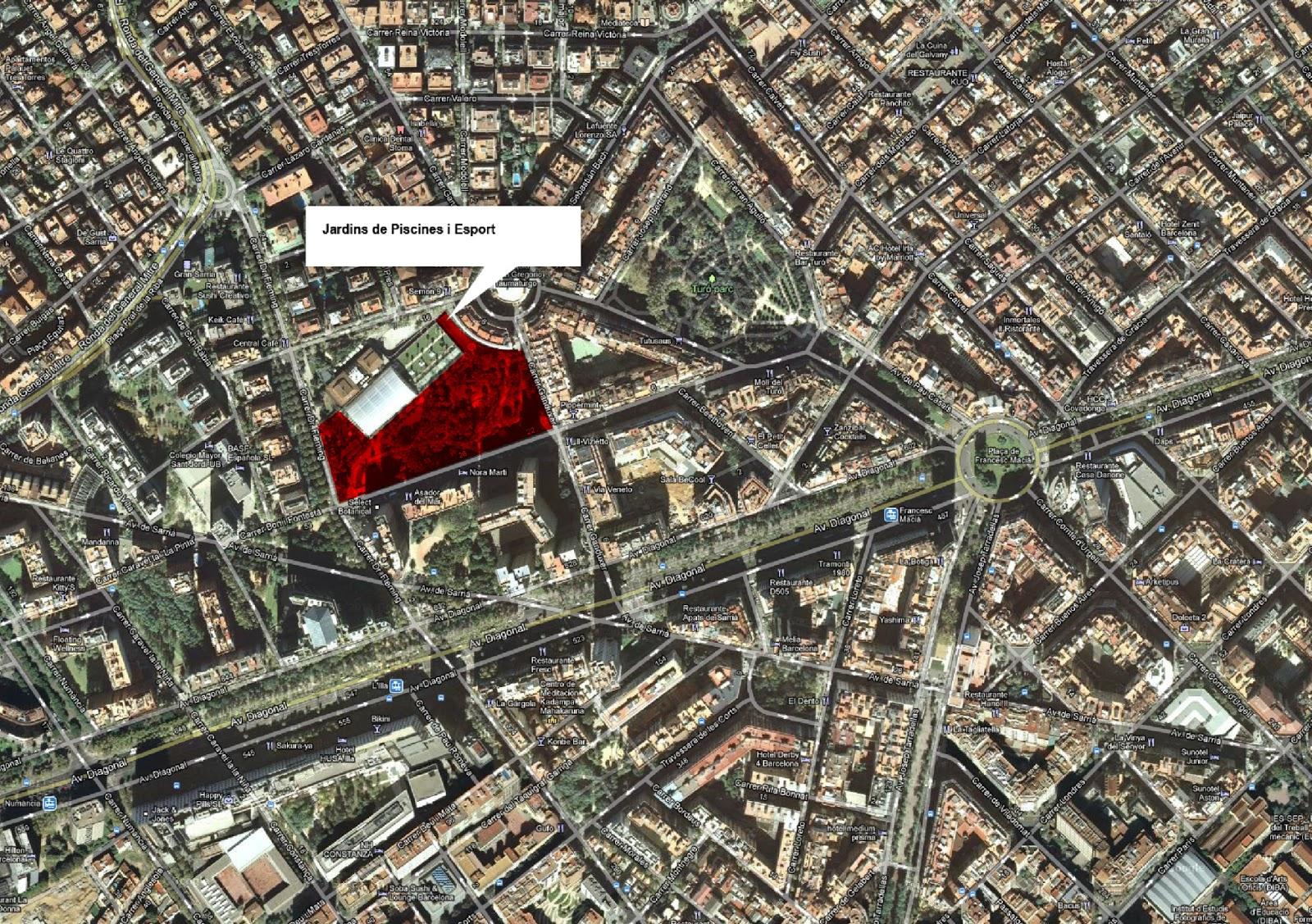Barcelonasportiva jardins i parcs joaquim domingo mari for Piscina can drago horarios