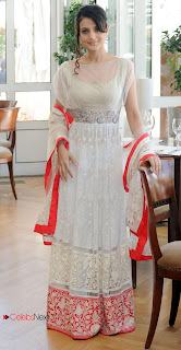 Ameesha Patel Pictures in White Evening Dress at 66th Cannes Film Festival  0004