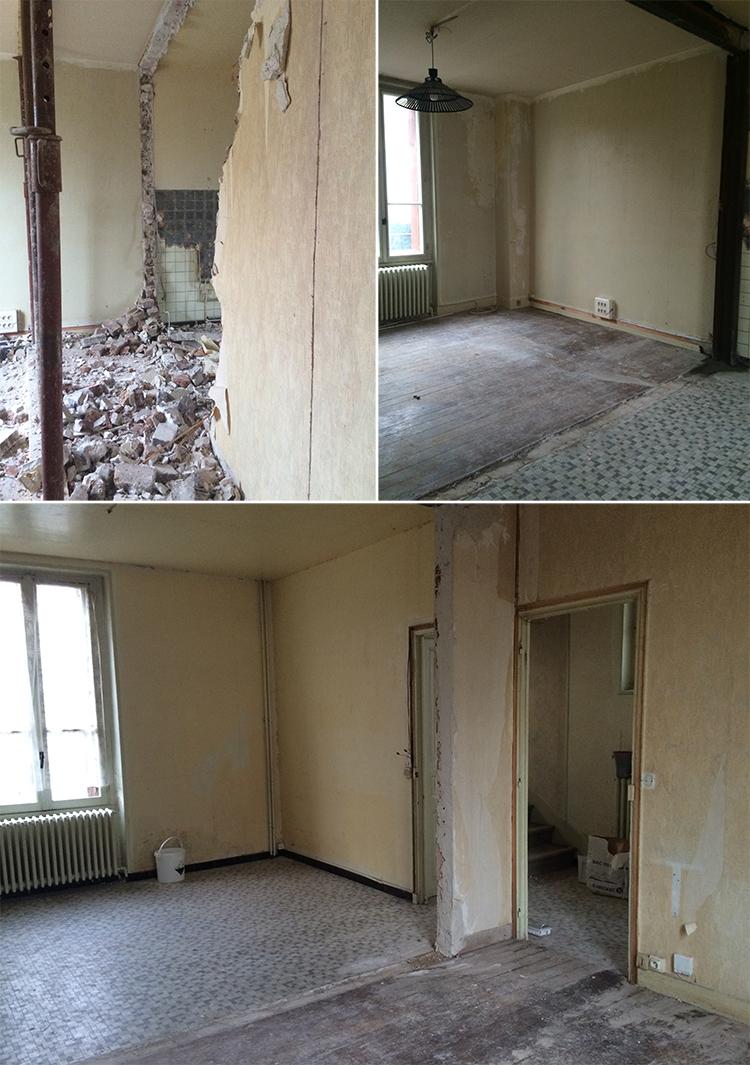 ♥ HOME SWEET HOME - Avant / Après - Le salon ♥ - TIBOUDNEZ