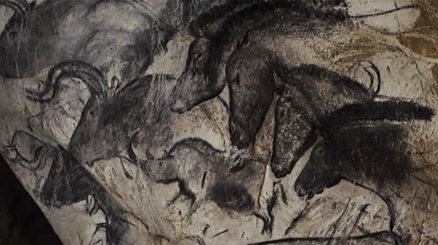 pintura rupestre de chauvet