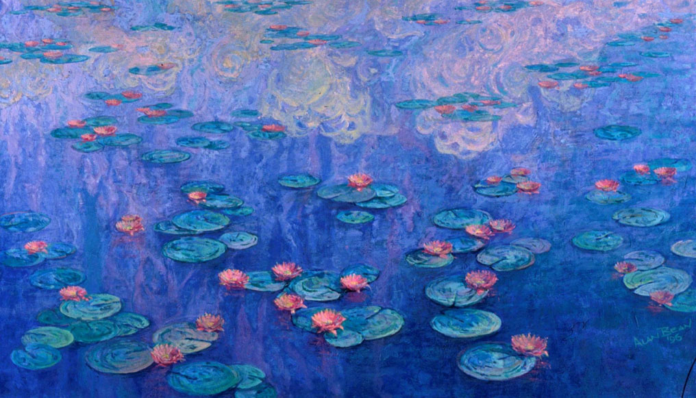 Water Lily By Claude Monet