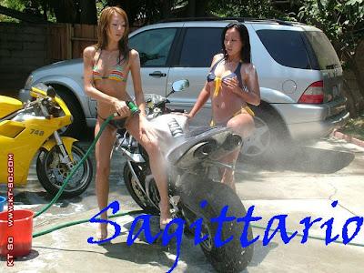 2012-2013 Sexy bike wash per ogni segno