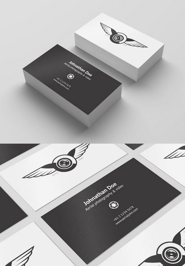 Free Psd Business Card Template Mockup Freebies Psd