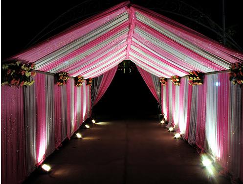 Wedding Decor Wedding Tent Decorating Ideas