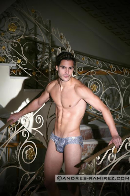 sexy model posing in modus vivendi underwear