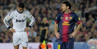 JIM tak bisa pilih Ronaldo atau Messi. © AFP