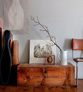 Mi baul vintage chic ideas para decorar - Objetos vintage para decorar ...