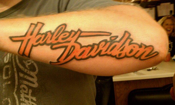 Harley Davidson Tattoo Images