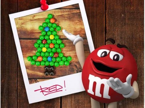 M&M Holiday Design Contest