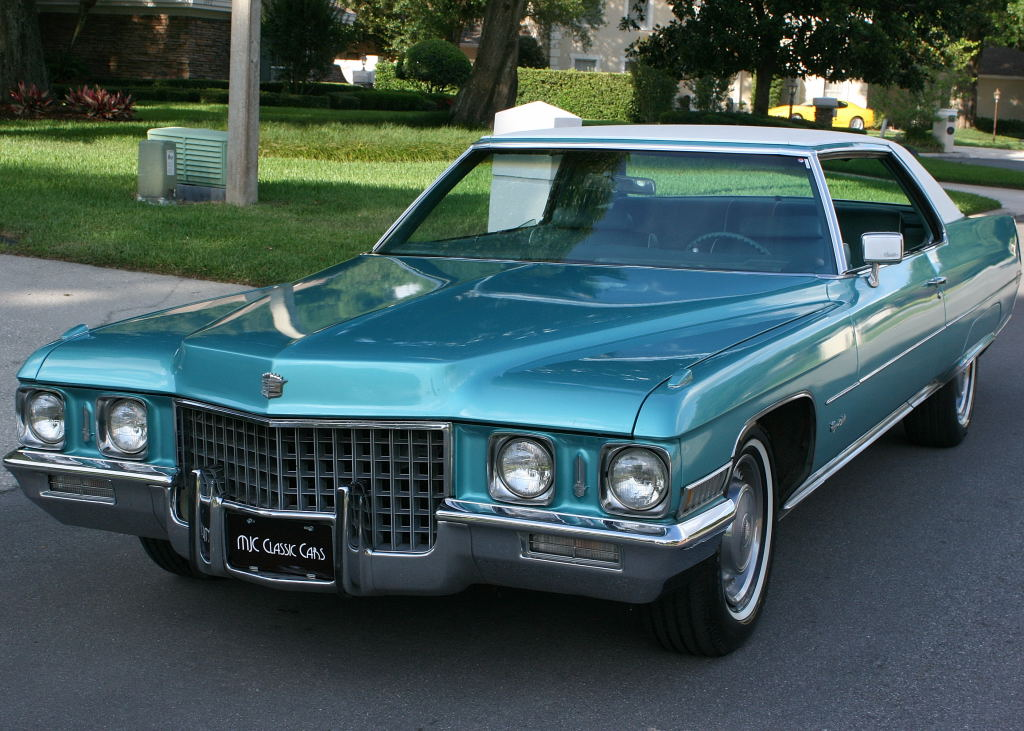 All american classic cars 1971 cadillac coupe de ville 2 for American classic cars