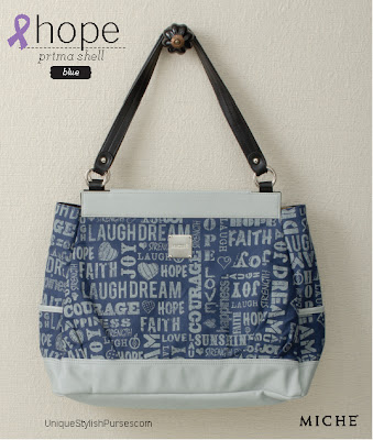 Hope Blue Shell for Prima Bag