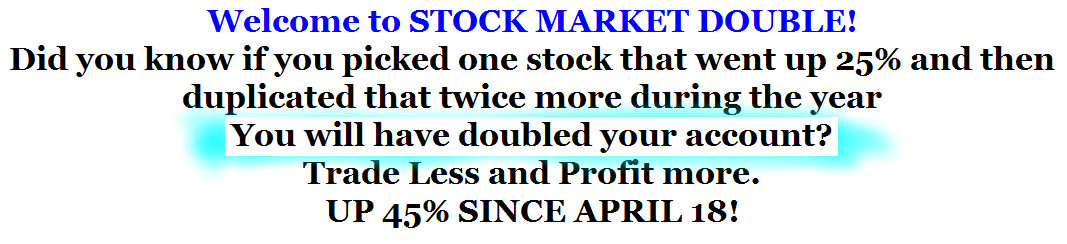 STOCK-MARKET-DOUBLE