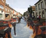 Amazing 3d: La strada come una tela da dipingere