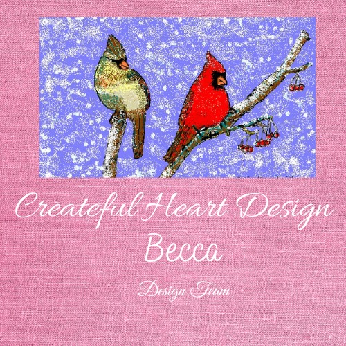 Createful Heart Design DT badge